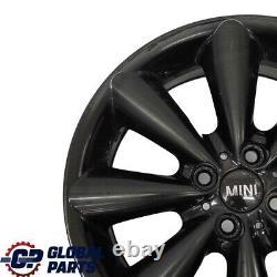 Mini Cooper One R55 R56 Noir Alliage en Alu Jante 17 7J Et 48 Conical