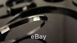Mini Cooper/S / One F55 F56 F57 Noir Intérieur Anneaux pour Modèles /