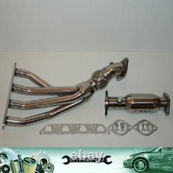 Mini Cooper / S R53 1.6L Race Tubulaire Acier Collecteur D'Échappement + Decat