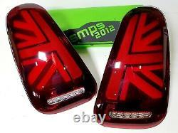 Mini Gen 1 LED Rouge Union Jack Feux Arrière R50, R53 2004-2006 LCI