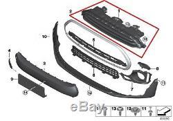 Mini Neuf D'Origine F54 Clubman avant Décoration Grille Coupe Chrome 2704848