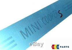 Mini Neuf D'Origine R52 R53 R56 S Mini Cooper Marche Pied Entrée Bande Paire