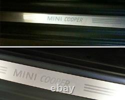 Mini Neuf OEM R50 R52 R53 R56 LCI Cooper Porte Entrée Seuil Bande Paire 2 Pièce