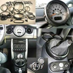 Mini One Cooper R50 R53 2001-11/2006 R52 2002-03/2009 Aspect Carbone De 26tlg
