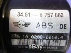 Mini One / Cooper/S R50 R53 Pompe ABS 6757062 6 757 062 6757063 10.0206-0010.4