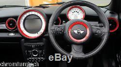 Mk2 Mini Cooper/S / One R55 R56 R57 R58 R59 Rouge Tableau de Bord Intérieur