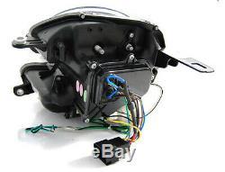 NEUF Projecteurs MINI COOPER R55 R56 R57 R58 R59 2006-2014 LED Light Tube Noir L