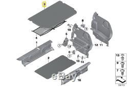 Neuf D'Origine Mini Cooper F55 Bagage Compartiment Coffre Tapis de Sol