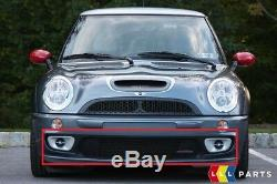 Neuf D'Origine Mini Cooper R53 Jcw Gp Pare Choc avant Grille Du Centre 7182623