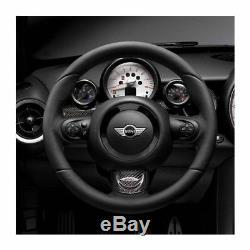 Neuf D'Origine Mini Jcw R55 R56 R57 Volant de Direction Cuir et Alcantara