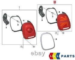 Neuf Véritable Mini F55 F56 F57 Droit Union Jack UK Feu Arrière Adaptative LED