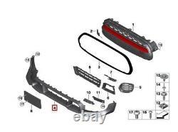 Neuf Véritable Mini Gp GP3 F56 Avant Bas Spoiler Pare-Choc Bordure 51119481329