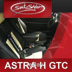 Opel Astra H GTC Housses de sieges d'auto sur mesure effet cuir tuning
