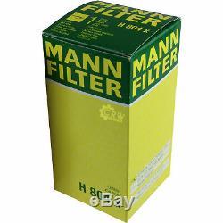 Pour BMW huile moteur 7l Mann Filtre H 804 x 2 Cabriolet F23 X5 E70 E53 F15 F85