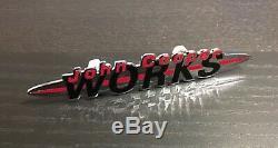 RARE ORIGINAL -John Cooper WORKS- Front Emblem / Badge MINI R53 S JCW GP