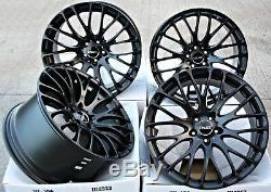 Roues Alliage 20 Pouces Alloys Cruize 170 MB Noir Mat Alloys Concave Wheels