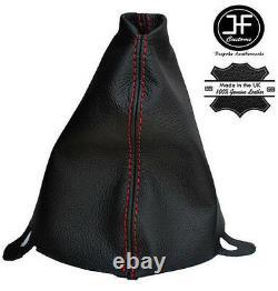 Rouge Couture Cuir Soufflet Frein A Main Pour Bmw Mini Cooper One R50 R53 01-06