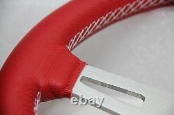 Rouge Volant Cuir 315mm Luisi Sharav 315 Rouge Fabriqué En Italie Tout Neuf