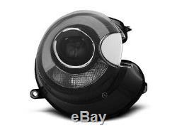 Scheinwerfer MINI COOPER R55 R56 R57 R58 R59 LED Light Tube Schwarz FR LPMC09E1