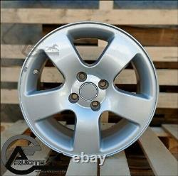 Set 4 Jantes en Alliage 6.5J 15 4X100 X Fiat Grande Punto Renault Clio Course