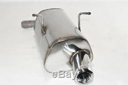 Silencieux Acier Inoxydable Mini Cooper 2000-2002 2003 2004 2005 2006 Tip 80
