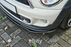 Spoiler / jupe de pare-chocs avant pour Mini Cooper Convertible R57 2006-2014