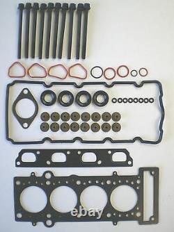 Tête Joint Set Boulons Mini One Cooper 1.6 16V W10B16A Vrs Cabriolet R50 R52 53
