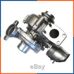 Turbo Chargeur Neuf pour FORD FOCUS 2 1.6 TDCI 90 110 cv 753420-0002, 753420-5