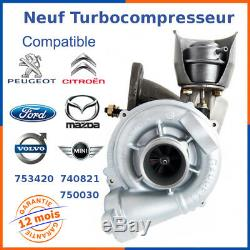 Turbo Chargeur Neuf pour PEUGEOT 308 1.6 HDI 110 112 753420-0003, 753420-5006S