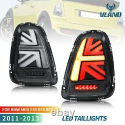 VLAND Feux arrière compatible pour Mini Cooper R56 R57 R58 R59 07-13 feu arrière