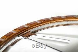 Volant Classic 13'' en bois pour restauration Ford MGB Midget AC